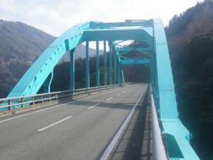 平成24年度防国橋補第4-01号 国道327号虹の大橋工区塗替塗装工事 平成26年2月7日完了
