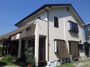 A様邸外部塗装工事 令和2年8月15日完了
