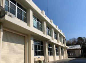 延岡工業高校第64棟(機械科実習棟)老朽化対策工事塗装改修 令和2年12月2日完了