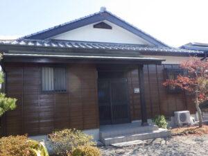 N様邸本宅外部塗替工事 令和2年12月25日完了