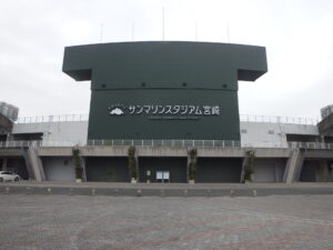 平成29年度第91-イ-2号総合運動公園サンマリンスタジアムスコアボード改修工事 平成30年1月10日完了